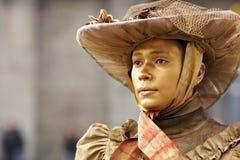 Pantomimes et statues vivantes Photographie stock