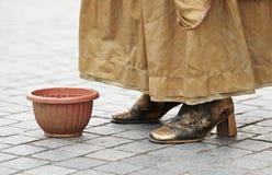 Pantomimes et statues vivantes Photo libre de droits