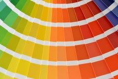 Pantone. Close up of a pantone color catalog Royalty Free Stock Image