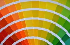 Pantone Foto de archivo libre de regalías
