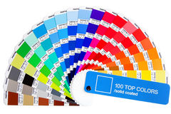 Pantone color palette royalty free stock image