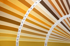Pantone color palette catalogue Stock Images