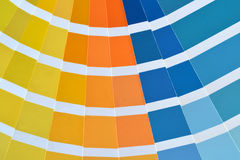 Pantone colors catalog Royalty Free Stock Images