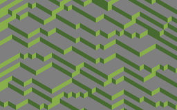 Pantone colors of 2017 concept Greenery on grey. Pantone colors of 2017 concept, Greenery on grey, computer generated abstract background, 3D render Royalty Free Stock Photography