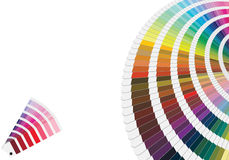 Pantone colors Stock Photo