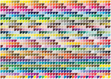 Pantone colors Royalty Free Stock Photography