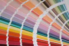 Pantone colors for paint Royalty Free Stock Photography