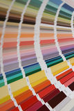 Pantone colors for paint Royalty Free Stock Images