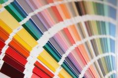Pantone colors for paint Stock Image