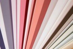 Pantone colors for paint Stock Photos