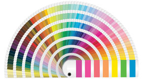 Pantone-Farben Stockbild