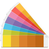 Pantone Palette Royalty Free Stock Photography