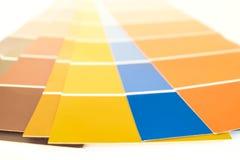 Pantone-Paletten Lizenzfreie Stockfotografie