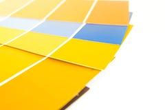 Pantone-Paletten 5 Lizenzfreie Stockfotos