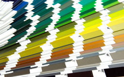 Pantone sample Royalty Free Stock Images