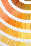 Pantone. Yellow Stock Photos