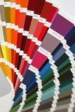 Pantonekleuren voor verf Stock Afbeeldingen