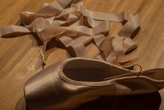 Pantoufles de ballet Photo libre de droits