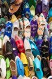 Pantoufles de Marocains photographie stock libre de droits