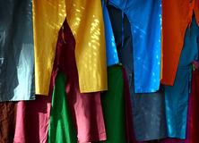 Pants. In the market (goa, india Royalty Free Stock Image