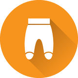 Pants baby icon. Vector illustration. Royalty Free Stock Image