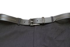 Pants and belt Stock Images