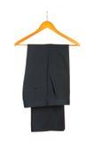 Pants on hanger Royalty Free Stock Photos