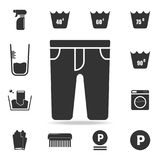 Pants icon. Detailed set of laundry icons. Premium quality graphic design. One of the collection icons for websites, web design, m. Obile app on white background Stock Photos