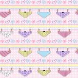 Pants pattern seamless background Royalty Free Stock Photography