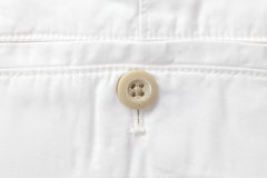 pants pocket button Royalty Free Stock Photo