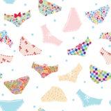 Pants seamless funny pattern Stock Photography