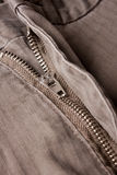 Pants zipper Royalty Free Stock Photo