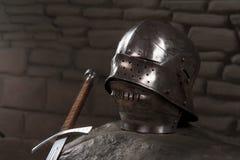 Pantser van de Middeleeuwse Ridder Stock Afbeeldingen