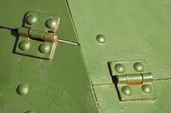 Pantserplaten op de eerste gepantserde personeelsdragers Stock Afbeelding