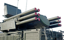 Pantsir-S1 missile and anti-aircraft weapon system Stock Photography