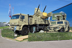 Pantsir-S1 (SA-22 charcica) Fotografia Stock