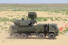 Pantsir-S1 (SA-22 charcica) Obrazy Stock