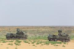 Pantsir-S1 (SA-22 charcica) Obraz Royalty Free
