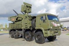 Pantsir-S1 (SA-22 charcica) Obrazy Royalty Free