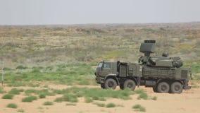 Pantsir-S1 (SA-22 Greyhound) stock video footage