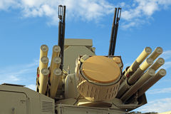 Pantsir-S1 (SA-22 Greyhound) Stock Image