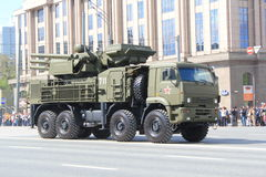 Pantsir-S1 Air Defense Missile/Gun System Royalty Free Stock Images