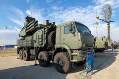 Pantsir-S1 (galgo do nome SA-22 do relatório da OTAN) Fotos de Stock