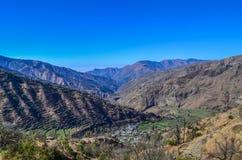 Pantwari-Dorf Stockfoto