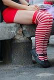 pantyhose stockbilder