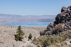 Panum Crater Stock Photo