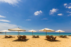 Panwa Beach in Phuket island Royalty Free Stock Image