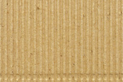 Panwiowa kartonowa goffer papieru tekstura, jaskrawa szorstka stara przetwarzająca goffered crimped textured pustego miejsca grun Zdjęcia Royalty Free