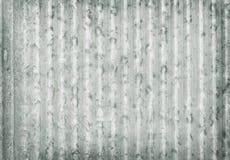 Panwiowy metal galwanizujący ściennego talerza tekstury tło, stary cynk powierzchni wzór obrazy stock
