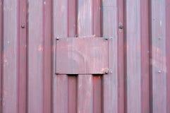 Panwiowy metalu prześcieradło i metalu talerz Zdjęcia Stock